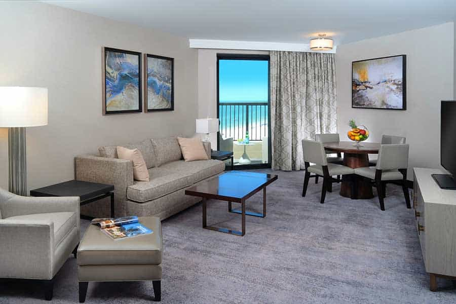 1 King 1 Bedroom Suite Gulf View